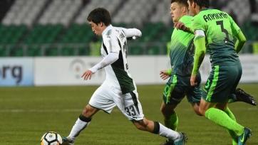 Гол Смолова принес победу «Краснодару» в матче с «Уфой»