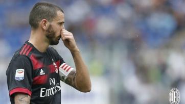 Бонуччи одним словом описал разгром «Милана» от «Лацио»