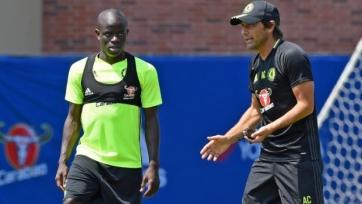 Конте: «Теперь Нголо Канте стал топ-игроком»