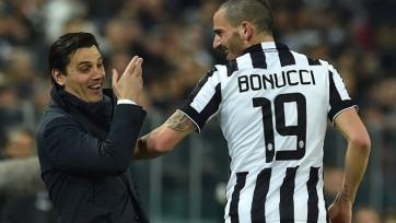 Монтелла поговорил с Бонуччи относительно его игры с «Лацио»