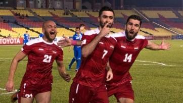 Сирия определилась, где сыграет ключевой матч квалификации на ЧМ-2018