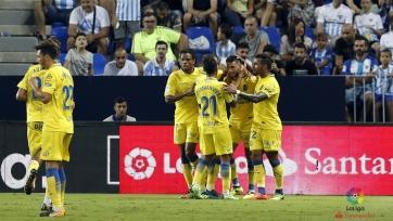 «Малага» потерпела третье поражение подряд