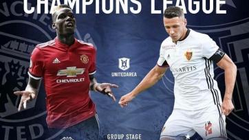 «Манчестер Юнайтед» - «Базель», прямая онлайн-трансляция. Стартовый состав «МЮ»