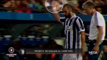 Игуаин продемонстрировал оскорбительный жест в адрес фанатов «Барселоны»