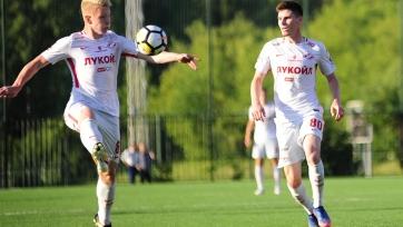 «Спартак» пал жертвой «Марибора» в юношеской Лиге чемпионов