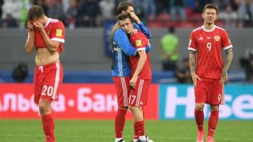 Российская сборная опустилась в рейтинге ФИФА