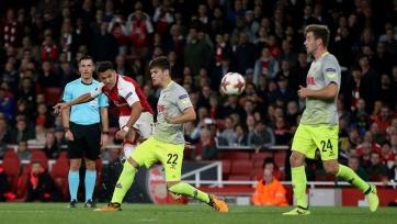«Арсенал» вымучил победу над «Кёльном»