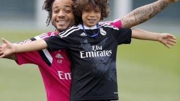 Сын Марсело оформил хет-трик в матче за детскую команду «Реала» (видео)