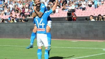 «Наполи» унизил «Беневенто», дубль Калинича принес победу «Милану» против «Удинезе»
