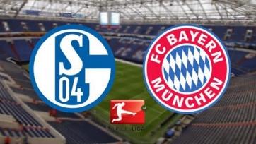 «Шальке» - «Бавария», прямая онлайн-трансляция. Стартовые составы команд