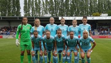 Женская сборная России провалилась в дуэли с англичанками