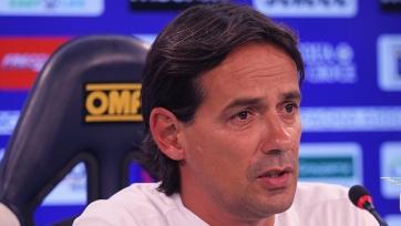 Индзаги поделился ожиданиями от матча с «Наполи»