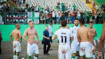 Федецкий подрался с фанатом после матча Кубка Украины