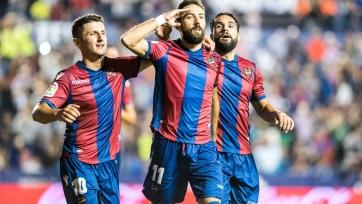 «Леванте» победил «Сосьедад» и подвинул «Реал» на восьмое место