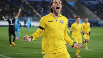 Дьяков забил потрясающий гол в Турции (видео)