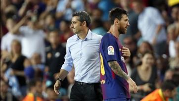 Вальверде рассказал, что «Барселоне» идёт на пользу персональная опека Месси