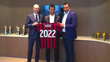 Официально: Сусо продлил контракт с «Миланом» до 2022 года