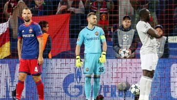 ЦСКА чаще других клубов Лиги чемпионов теряет мяч на своей половине поля