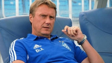 Хацкевич поведал, что сказал футболистам в перерыве матча в Белграде