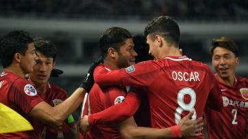 Команда Халка и Оскара пробилась в финал Кубка Китая
