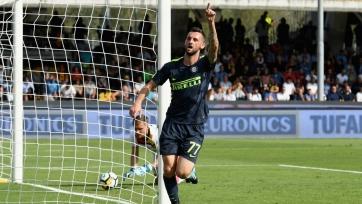 Дубль Брозовича принёс «Интеру» победу над «Беневенто»