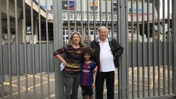 Семья из Австралии приехала в Барселону на матч с «Лас-Пальмасом», чтобы увидеть Неймара