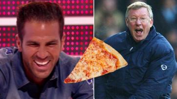 Фабрегас признался, что бросил пиццу в лицо Фергюсону (видео)