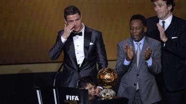 Криштиану Роналду продал «Золотой мяч»