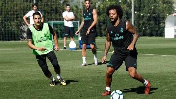 Марсело и Тео Эрнандес вернулись к тренировкам