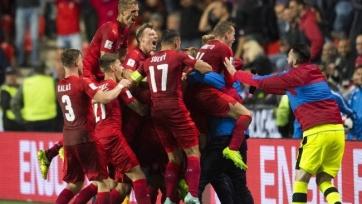 Сборная Чехии переиграла на выезде Азербайджан