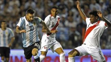 Аргентина не сумела победить сборную Перу