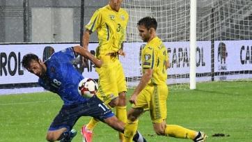Украина вымучила победу над Косово