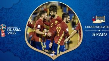 Испания – одиннадцатый участник Чемпионата мира в России