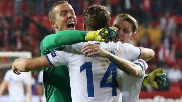 Сборная Исландии гарантировала себе участие в стыковых матчах
