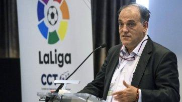 Тебас: «Без «Барселоны» и «Эспаньола» Ла Лига станет менее значимой, но быстро восстановится»