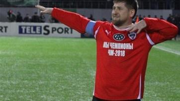 Рамзан Кадыров забил гол в матче против сборной Италии