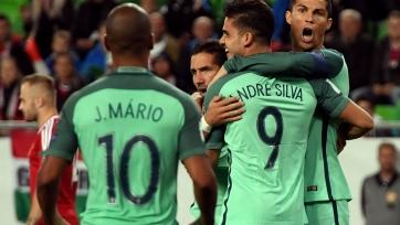 Роналду помог Португалии победить Андорру, Швейцария крупно одолела Венгрию
