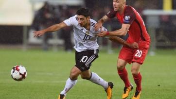 Германия крупно победила Азербайджан, завершив отбор со стопроцентным результатом