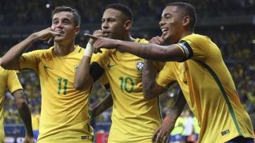 Стало известно, где будет базироваться бразильская сборная во время ЧМ-2018