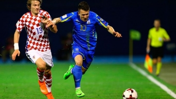 Украина – Хорватия, прямая онлайн-трансляция. Стартовые составы команд