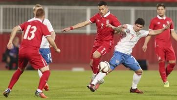 Молодежная сборная России уступила Сербии