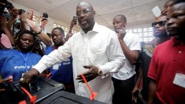 Обладатель «Золотого мяча»-1995 Джордж Веа избран президентом Либерии