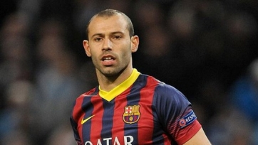 Маскерано намекнул, что может уйти из «Барселоны»