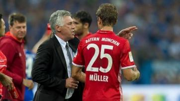 Мюллер встал на защиту Анчелотти