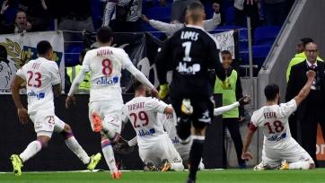 «Лион» вырвал победу у «Монако» в яркой концовке