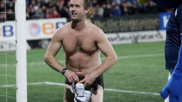 Тренер «Волеренги» разделся наголо, чтобы мотивировать футболистов
