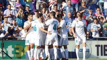 «Реал» не без труда переиграл «Хетафе»