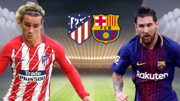 «Атлетико» – «Барселона», прямая онлайн-трансляция. Стартовые составы команд