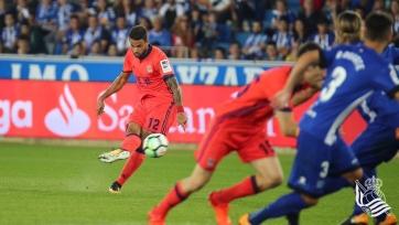 «Реал Сосьедад» вырвал победу у «Алавеса»