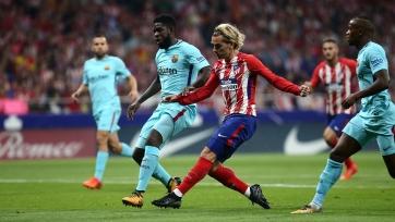 «Атлетико» не удержал победу над «Барселоной»